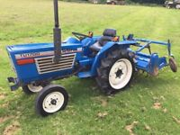 Iseki TU1700 2WD Compact Tractor with Rotavator, 844 HOURS, other Attachments Available