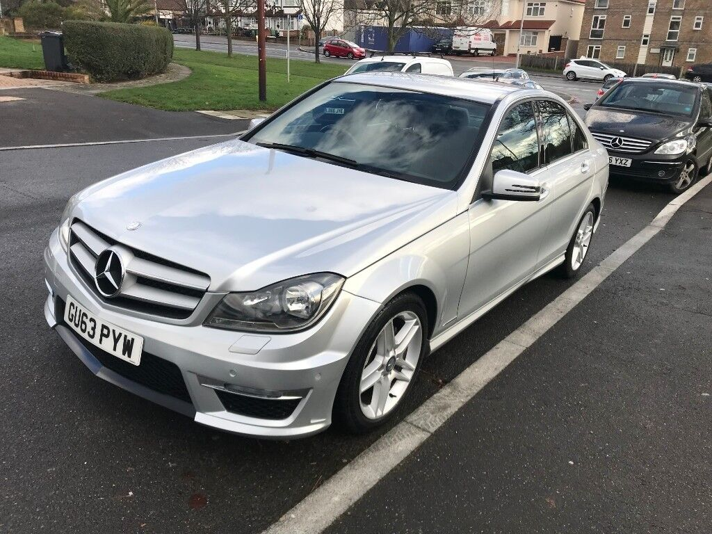 2013 Mercedes C250 Amg Sport 2 1 Cdi Bluff Automatic 64 000 Miles