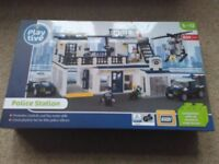 BNIB 834 piece LEGO compatible POLICE STATION