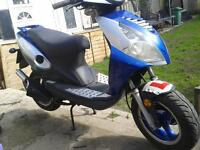 50cc unrestricted scooter