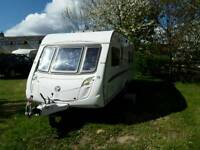 Swift Conqueror 645 LUX 4 berth Caravan with Awning
