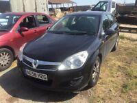 Vauxhall Astra 2008 1.6 16v (115ps) Elite Black Hatchback 5d 1598cc **SPARE OR REPAIR**