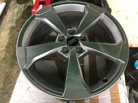 "genuine new Audi RS3 2015 19"" New style Rotor Arm wheels 8J ET49 TT A3 A4 A5 A6 A7 A8 Q3 Q5 Q7"