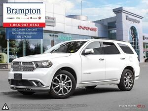 2017 Dodge Durango CITADEL |AWD | EX CHRYSLER COMPANY DEMO | 8.4