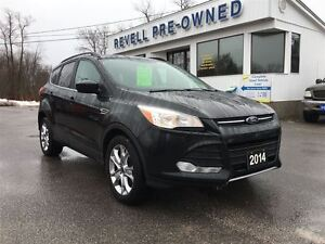 2014 Ford Escape SE 4WD...Lease return, Ecoboost, Moonroof, Heat