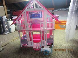 barbi dolls house for sale.