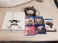 Sony ps4 500gb white