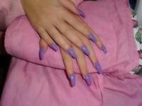 Acrylic gel-extension - Gel polish - Maniucure