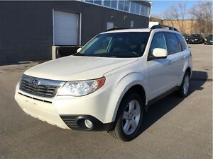 2009 Subaru Forester Limited  with leather seats & pano roof