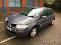 Renault Megane 1.4,5 DOOR,diesel, 2006, 90K MILEAGE, FSH, 2 keys, 1YR MOT, PART EX WELCOME,