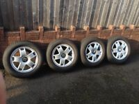 "Set of four Seat 15""alloys also fit VW"