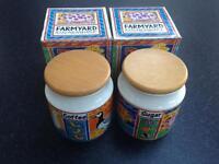 Dunoon Farmyard Coffee and Sugar Storage Jars