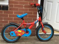 Superman bike.