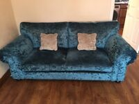 Sofa, three seater and two seater.