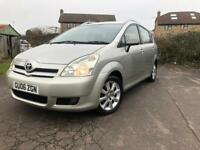 Toyota Corolla verso 7 seater Automatic. £1495