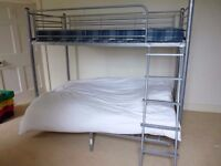 Super condition bunk bed with Double futon £85 OVNO