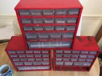 Workshop storage drawers