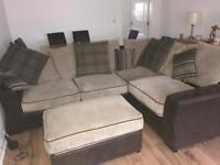 SOLD!!! Corner sofa... Excellent condition