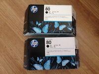 HP Designjet Black 80 ink cartridge 350ml - C4871A