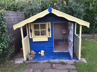 Children's Wooden Outdoor Playhouse