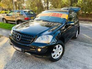 TURBO DIESEL Mercedes Benz ML280 4x4 SUV LOGBOOKS 2 keys Low KS A1 Sutherland Sutherland Area Preview