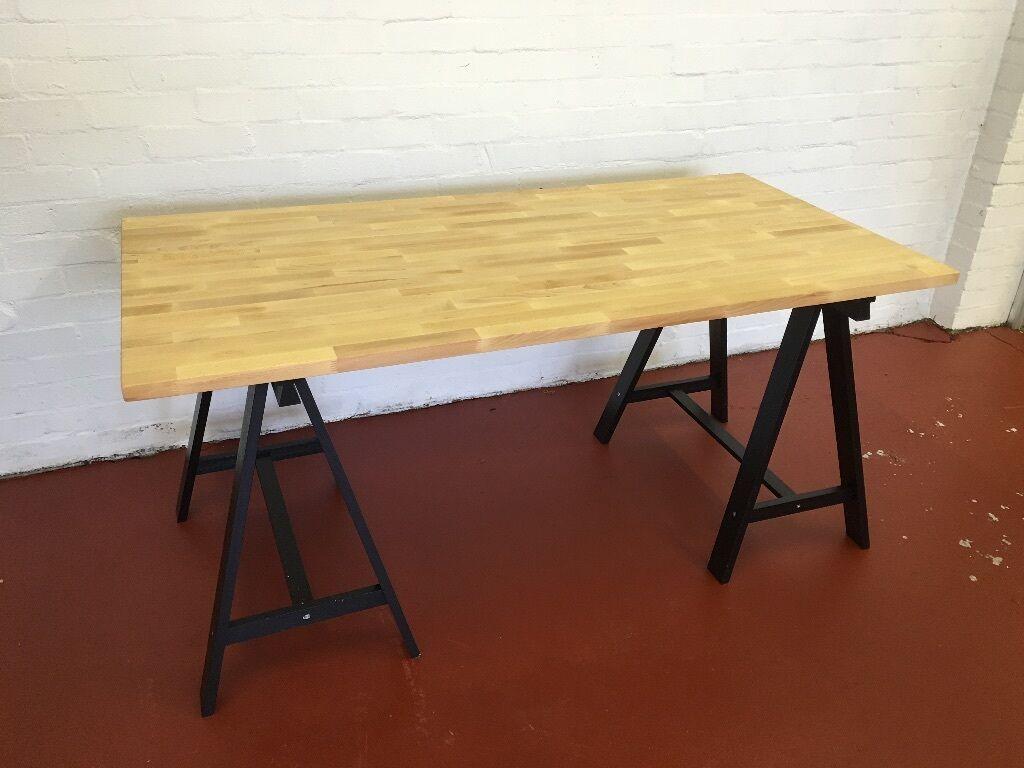 Computer Desk Solid Wood
