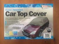 *NEW* WATER RESISTANT CAR TOP COVER ~ XL