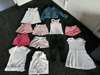 Girls clothes and shoes bundle 2 - 3 years