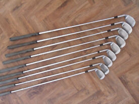 Wilson Golf Clubs. Full set of 9 Irons. All very good condition - Pokesdown BH5 2AB