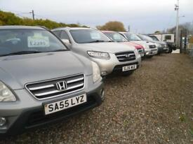 HONDA CR-V A SELECTION OF 4X4'S FROM �1495 AVAILABLE AT BARGAIN MOTORS EH113NR (red) 2003