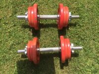 Weider Cast Iron Exercise Weights