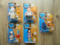 Family Guy Lot of Boxed Figures