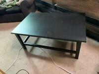 Big black coffee table