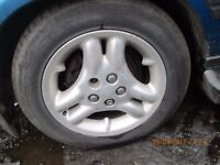 Range Rover 97 Set of 4 Alloys and Tyres 255/55 18 Good Tyres.