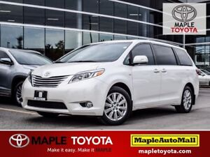 2017 Toyota Sienna LIMITED AWD NAVIGATION LEATHER DUAL SUNROOF