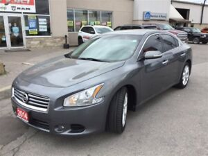 2014 Nissan Maxima SV|LEATHER|SUNROOF|TINT