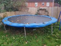 12 Ft Trampoline, free to collector