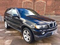 2002 BMW X5 ++ AUTOMATIC ++ ALLOYS ++ BLACK ++ LEATHER ++ GREAT LOOKER ++ OCTOBER MOT.