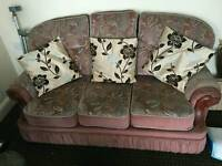 Free sofa and chair ( WOMBWELL )