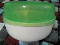MAM steriliser - steam or cold water
