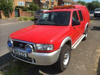 Mazda B2500 Double Cab Pickup 4x4 Recovery/Mechanic Truck