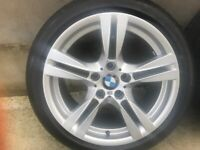 X1 BMW ALLOY WHEELS 335 M Sport 18 Inch