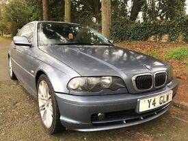 2001 BMW 325 ci coupe