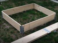 Raised garden beds (2 sizes available)