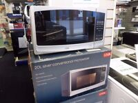 Microwave Solo Silver & Black 800W Power 20 litres