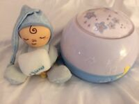 Chicco baby night light and classical music