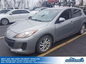 2013 Mazda MAZDA3 GX HATCHBACK! AUTOMATIC! CRUISE CONTROL! POWER