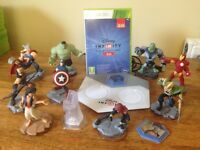 Disney infinity 2.0 starter set & extra figures