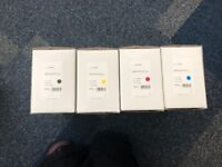 Brand New Perfect Green Samsung Compatible Printer Ink Cartridges Four Colours