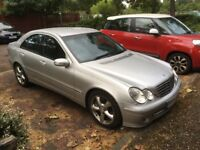 Mercedes C200 / C220 Avantgarde Silver Manual Good Conidition New MOT Serviced